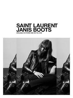 Saint Laurent ad campaign fall 2013 by Hedi Slimane _