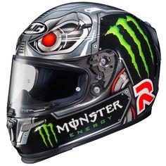 "HJC R-PHA10 ""Speed Machine"" Replica Jorge Lorenzo Indianapolis 2014"