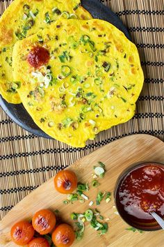 Chickpea Flour Pancakes (Besan Chilla/Cheela) - Traditional Pancakes Taken To The Next Level | hurrythefoodup.com