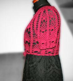 crochet bolero Crochet, Ganchillo, Crocheting, Knits, Chrochet, Quilts