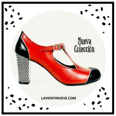 Red T Strap #heel #laveintinueve #red