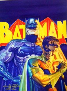 Batman and Robin by Alex Ross                              …