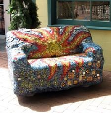 Virginia Gardner, Charlottesville, VA mosaic artist