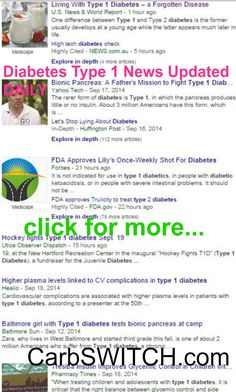 ♥ Diabetes Type 1 diet recipes symptoms vs type 2 treatment ♥ targeted low carb no carb Recipes, Infographics & DAILY nutritional science news updates ►◄ #carbswitch carbswitch.com Please Repin