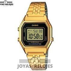 ⬆️✅ Casio Collection LA680WEGA-1ER ✅⬆️ Colosal Modelo de la Colección de Relojes Casio PRECIO 37 € Disponible en  https://www.joyasyrelojesonline.es/producto/casio-casio-collection-la680wega-1er-reloj-digital-de-cuarzo-para-mujer-correa-de-acero-inoxidable-color-dorado-luz-alarma-cronometro/  ¡¡No los dejes Escapar!!