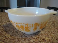 Rare Vintage Mid-Century Pyrex by VaccarosVintageFinds on Etsy