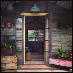 Modern but rustic #SHEDS - Instagram Gallery