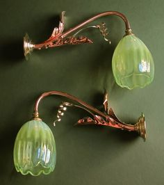 WAS Benson Wall Lights This website has some beautiful Arts and Crafts objects.