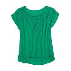 Love this blouse! Green is a great color, brings out my green eyes! -valerie