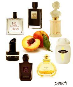 Irresistible Peaches: Peche Cardinal, Vohina, Peau de Peche, Ilham Nektar, No Matter What, and Flower of Immortality. #niche #perfume #luckyscent