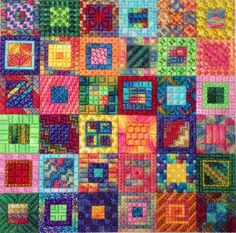 Edibles Calypso Squares -- Needle Delights Originals