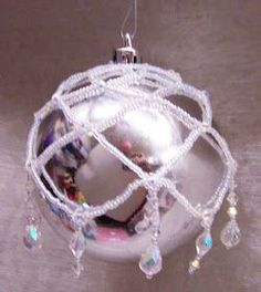 Aloha Crafters ~     Today's Idea & Inspiration  is a Beaded Cover for a Christmas Ornament.      SUPPLIES:    Hard Beading Needle ~ 3006...