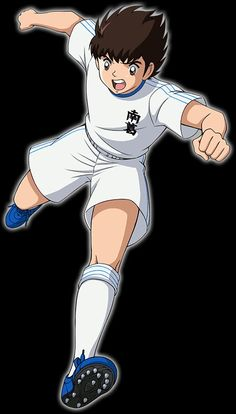Captain Tsubasa, Soccer Drawing, Football Images, New Champion, Dream Team, Sasuke, Drawing S, Anime Guys, Cartoon