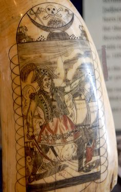Scrimshaw Pirate by Curious Expeditions, via Flickr