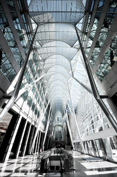 Allen Lambert Galleria [toronto] - santiago calatrava