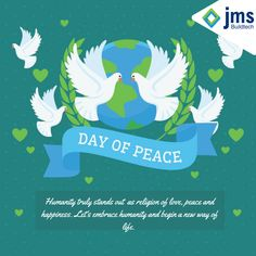 Humanity truly stands out  as religion of love, peace and happiness. Let's embrace humanity and begin a new way of life. Happy Peace Day! #InternationalPeaceDay