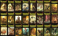 The Tarzan Books-yet another guilty pleasure when I want something exciting and mindless.