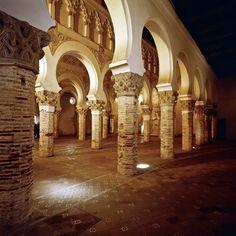 Toledo, la ciudad de las Tres Culturas SINAGOGA DE SANTA MARIA LA BLANCA