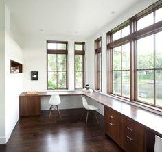 Office. Love the windows!!