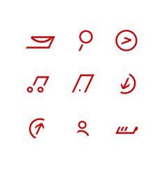 Verizon iconography on Behance