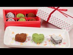 Chocolate Rum Raisin Walnut Valentines ラム酒風味レーズンナッツチョコ バレンタイン用 作り方 レシピ - YouTube