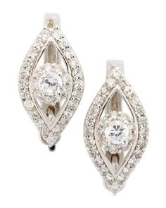 Pave Evil Eye Earrings by Susan Hanover at Last Call by Neiman Marcus.