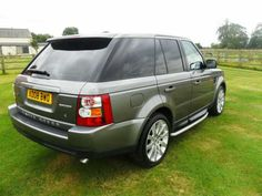 2008 Range Rover Sport 2.7 TDV6 S 5-door automatic 4x4. Finished in Metallic Stornaway Grey. Black leather interior. Privacy glass (to rear of B post). FSH.