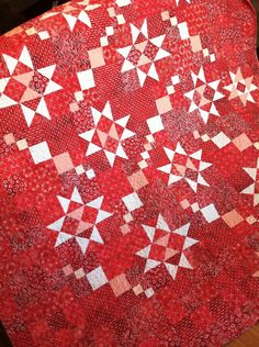 Taylored Stars quilt made w/ Artisan Batiks: Color Source