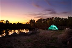 Really nice #color and the use of a #strobe inside the tent really brings the focus there.