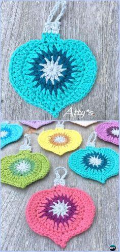 Crochet Christmas Vintage OrnamentFree Pattern - Crochet Christmas Ornament Free Patterns