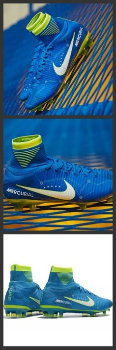 La scarpa da calcio per terreni duri Nike Mercurial Superfly V FG. Neymar Nuove Scarpa da calcio Nike Mercurial Superfly V FG NJR Blu Bianco Volt