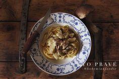 Mushroom ragout with dried meat www.bohemianfoodie.cz