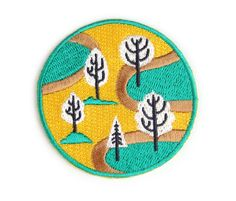 "Are you a nature expert? Would you call yourself an outdoorsy type of person? Do you love the smell of Evergreen trees? Then this patch is for you!! Snag this patch and show the world that you and mother nature are BFF! Iron-on backing. Measures 2 3/8"" circle"