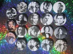 "River Phoenix 2-1/4"" Pinback Buttons by GalaxyGirlPins on Etsy https://www.etsy.com/ca/listing/247968608/river-phoenix-2-14-pinback-buttons"