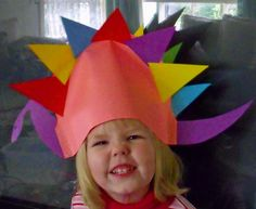 Favorite days= When my kids were standing in carpool line with their homemade hats on! #lamplighterschool RT Crafts: The Letter D