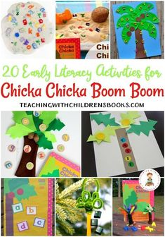 20 Chicka Chicka Boom Boom Activities and Crafts