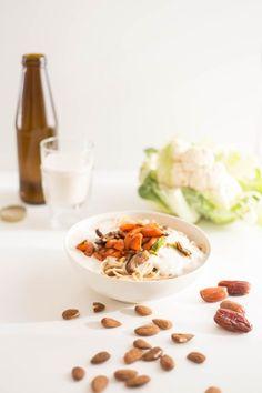 Vegan-Woche 3: Selbstgemachte Mandelmilch & cremige Pasta mit Pfannengemüse DIY Mandelmilch