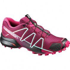 f1909ffff3 Salomon - Speedcross 4 Trail Running Shoe - Women's - Tibetan Red/Sangria/ Black