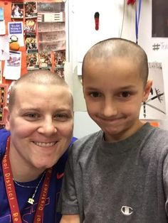 Teacher Stands Up to Bullying by Letting Student Shave Her Head