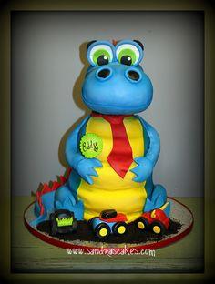 c74cdd1a029 Eddy s Dino Birthday cake by sandrascakes via Flickr Dragon Cakes