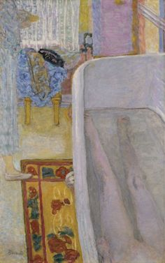 This #Bonnard #painting inspired me a few years back. Brilliant composition