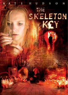 The Skeleton Key is a 2005 American/German horror film co-produced and directed by Iain Softley from a screenplay by Ehren Kruger (The Ring). It stars Kate Hudson, Gena Rowlands, John Hurt, and Peter Sarsgaard. Best Horror Movies, Horror Movie Posters, Scary Movies, Great Movies, Horror Dvd, Kate Hudson, Skeleton Key Movie, Love Movie, Movie Tv