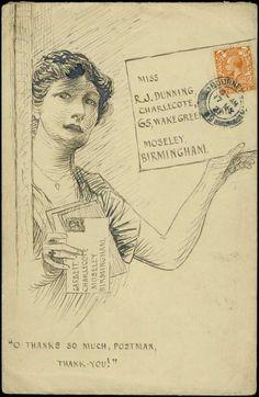 mail art, 1921