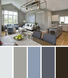 Morr Interiors Dorset Park Interior Design Palette #interiordesign #design #livingroom #blue #grey