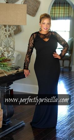 #formal #look #trendy #fashion #lace #plus #plussize #black #boutique