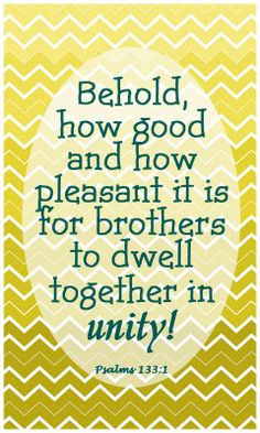 bible verse about unity
