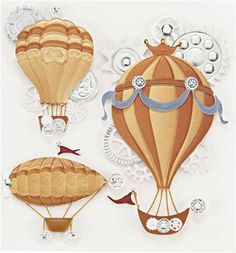 flying+machines | ... - Jolees Boutique - Dimensional Stickers - Steampunk Flying Machines