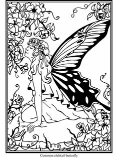dover coloring pages fairies - Pesquisa do Google