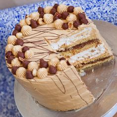 My take on the famous 'Kyiv Cake' – the 'Hazelnut Meringue Cake'. This stunning dessert is made with sponge cake soaked with hazelnut liqueur, chocolate ganache filling, caramel frosting and crunchy hazelnut meringue! This cake is the ultimate hazelnut treat! Watch my video recipe for step-by-step instructions! For salted caramel frosting, click here:http://tatyanaseverydayfood.com/recipe-items/salted-caramel-frosting/ For chocolate […]