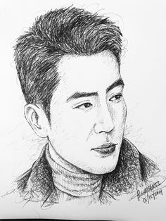 Joo Sang-wook is a South Korean actor. He is best known for his roles in generational saga Giant, medical drama Good Doctor, romantic comedy Cunning Single Lady, Birth of a Beauty and crime procedural Special Affairs Team TEN. Birth Of A Beauty, Cunning Single Lady, Joo Sang Wook, Medical Drama, Ink Pen Drawings, Celebrity Drawings, Good Doctor, Korean Actors, Saga